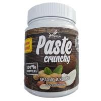Paste Crunchy арахисовая паста с кокосом (600г)